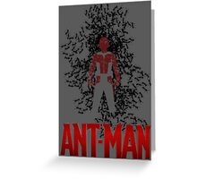 Ant Man Greeting Card