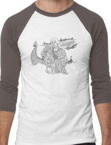 Lost Knight Men's Baseball ¾ T-Shirt