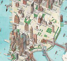 Manhattan by GenialGrouty