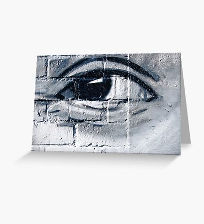 Graffiti eye Greeting Card