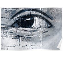 Graffiti eye Poster