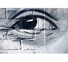 Graffiti eye Photographic Print