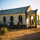 First Church of Niassa Province, Mozambique by Tim Cowley