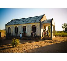 First Church of Niassa Province, Mozambique Photographic Print