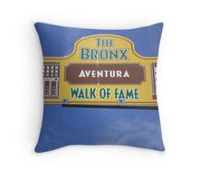 Da Bronx Walk of Fame Throw Pillow