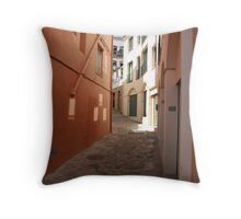 Spanish Alleyway Throw Pillow