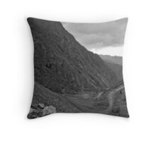 Mountain Pass 2 Throw Pillow