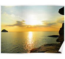 Cornwall: Yet Another Trebarwith Sunset Poster