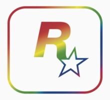 Rockstar Games Rainbow EFLC Logo Kids Clothes