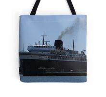 The Badger - Manitowoc Car Ferry Tote Bag