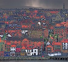 Hailstorm over Whitby by KwoArt