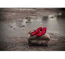 Ruby Red slippers Photographic Print