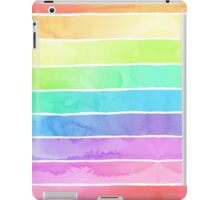 Summer Sorbet Rainbow Stripes iPad Case/Skin