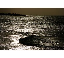 """Lite"" Waves Photographic Print"