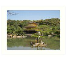Ryoan-Ji Temple Art Print