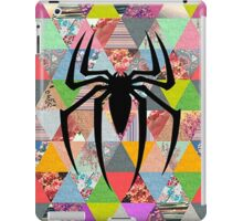 Spider-Man logo with hipster triangles iPad Case/Skin