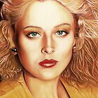 Virginia Madsen Color Pencil @ www.KeithMcDowellArtist.com   by © Keith McDowell, Artist