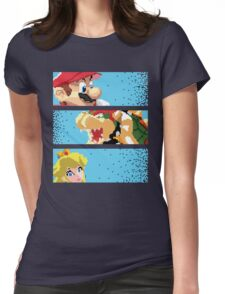 The good the Bad and the Princess Womens Fitted T-Shirt