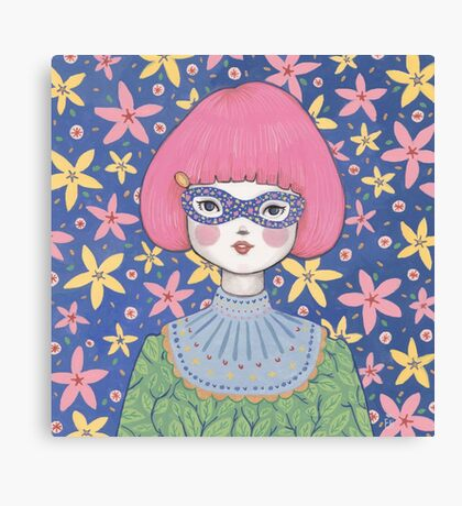 Flower Bandit - Jasmine Canvas Print