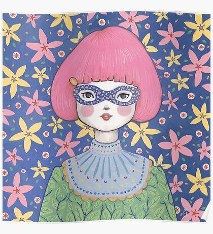 Flower Bandit - Jasmine Poster
