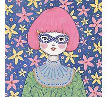 Flower Bandit - Jasmine Photographic Print