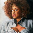 Phyllis Hyman Color Pencil @ www.KeithMcDowellArtist.com  by © Keith McDowell, Artist