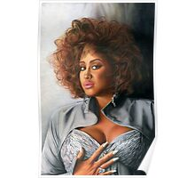 Phyllis Hyman Color Pencil @ www.KeithMcDowellArtist.com  Poster