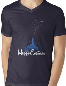 Happy Endings Mens V-Neck T-Shirt