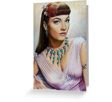 Anne Baxter Color Pencil @ www.KeithMcDowellArtist.com  Greeting Card