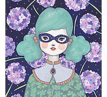 Flower Bandit - Hydrangea Photographic Print