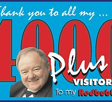 Thank You my 4000 visitors by Ken Tregoning