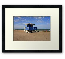 The Quiet Before the Crowds Framed Print