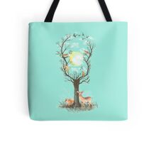 Listen to the Birds Tote Bag