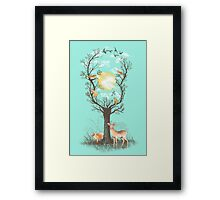 Listen to the Birds Framed Print