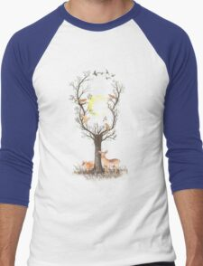Listen to the Birds Men's Baseball ¾ T-Shirt