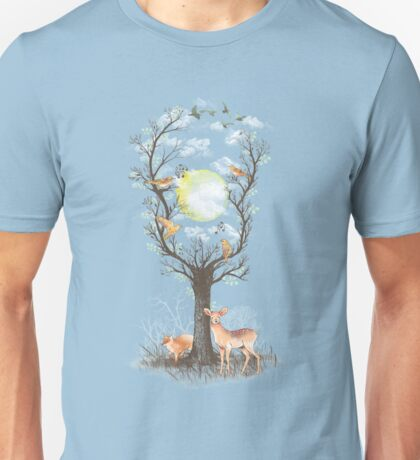 Listen to the Birds Unisex T-Shirt