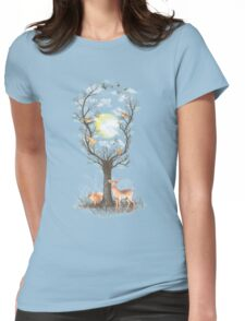Listen to the Birds Womens Fitted T-Shirt