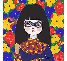 Flower Bandit - Pansy Photographic Print