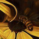 Bees at Dusk @ www.KeithMcDowellArtist.com  by © Keith McDowell, Artist