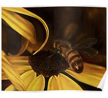 Bees at Dusk @ www.KeithMcDowellArtist.com  Poster