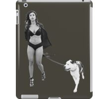 Hot Dog Walk Brighter No Glow iPad Case/Skin