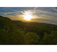 The perfect Greenbelt Sunset Photographic Print