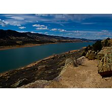 Horsetooth Resevoir in Spring Photographic Print