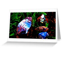Opal In raw form  Greeting Card