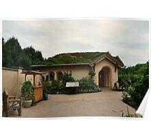 """Children's """"Green"""" Garden Cottage  Poster"""