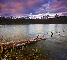 Sunrise. Little Redfish Lake 2007 by Travis Ingle