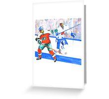 Hockey Fun Greeting Card