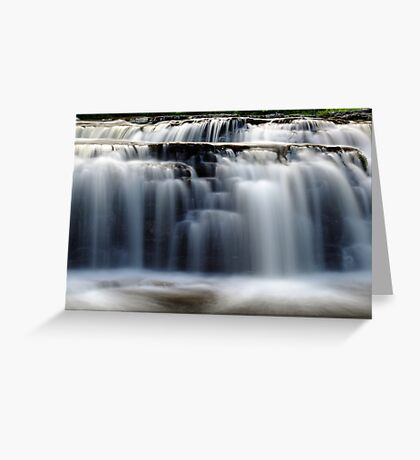 Stair Falls - Detail Greeting Card