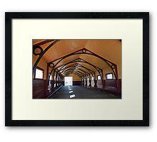 Queenscliff Pier Framed Print