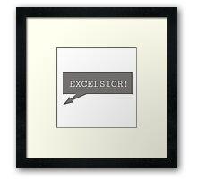 Excelsior - Stan Lee Framed Print